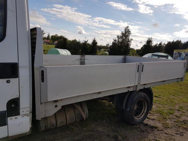 skrzynia ładunkowa aluminiowa z Iveca Daily