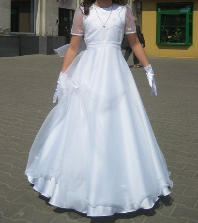 Sukienka Komunijna 128