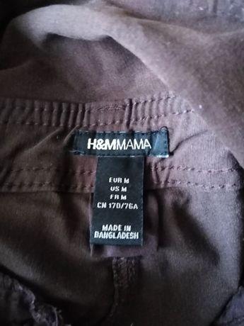 Eleganckie spodnie ciążowe H&M Mama r. 38 M
