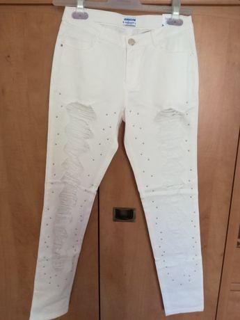 Spodnie Mayoral 157 białe