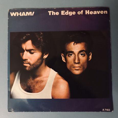 """Wham! The Edge Of Heaven - Single 7"""" (1986)"""