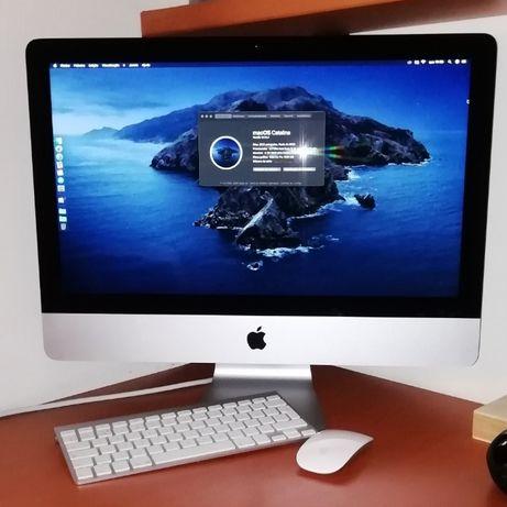 "iMac 21,5"" finais 2013."