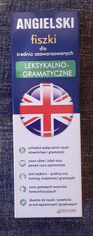 Angielski fiszki dla średnio zaawansowanych EDGARD