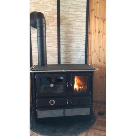 Купить кухонную печь на дровах, печь с камнем, декоративная печь, дача