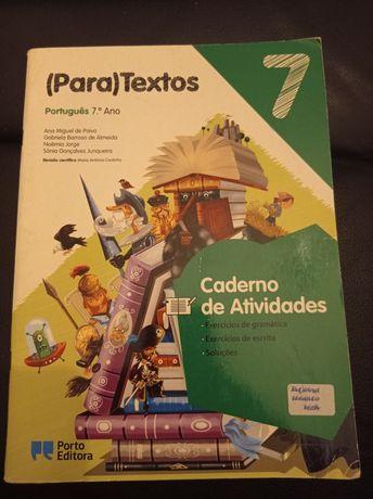 Manual 7° Ano - Caderno de Actividades Português