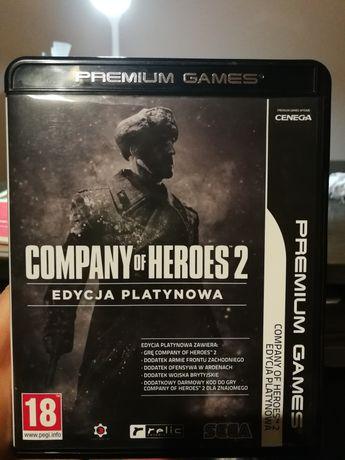 Gra komputerowa Company od Heroes 2 edycja platynowa 4 płyty