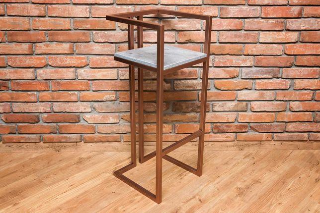 Hoker,krzesło barowe,loft,stalowe,industrialne