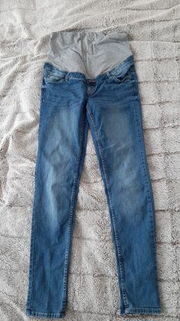 Spodnie jeansy ciążowe r.40