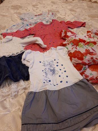 Плаття на весну, літо для дівчинки 1-2роки