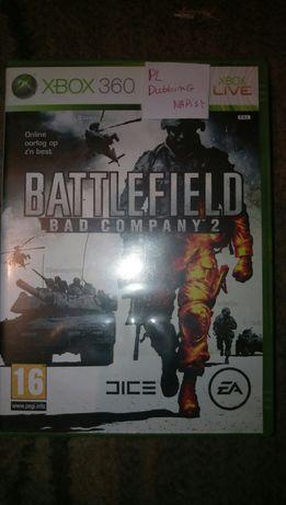 Battlefield bad company 2  pl Xbox 360
