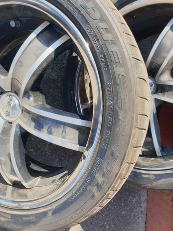 Шины б/у лето Bridgestone dueler 275/40 R20 106y Japan