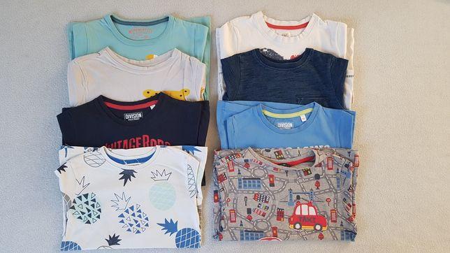 Zestaw koszulek 104 T-shirty bluzki koszulka Next Reserved H&M