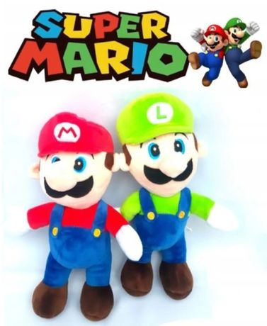 Super Mario Bros zestaw 2 szt maskotki Mario