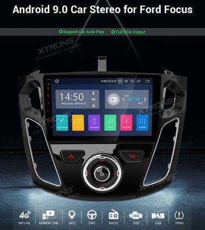 "Rádio FORD Android 9 Quad-Core Ecrã 9"" HD 2GB RAM Wifi GPS Bluetooth"