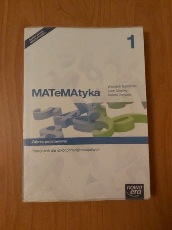 Podręcznik MATeMAtyka 1