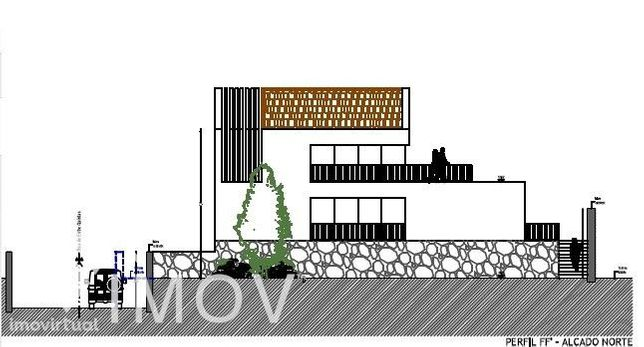 Terreno com PIP Aprovado para construção de 6 moradias com jardins, pi