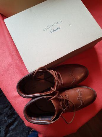 Do sprzedania nowe skórzane buty Angielskiej firmy Topton Hi Clarks.