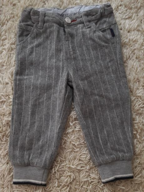 Брюки штаны джинсы шерсть на подкладке Chicco zara