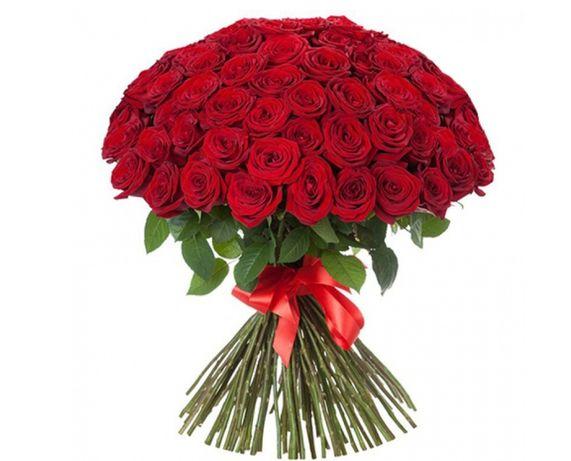 Роза красная ! Цветы Днепр