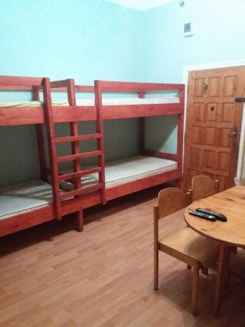 sprzedam łóżko piętrowe 4 osobowe z materacami