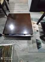 mesa de centro cor mogno.