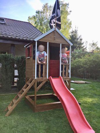 Domek dla dzieci - drewniany, ogrodowy Wendi Toys