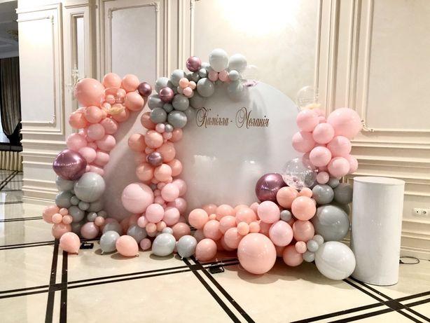 Фотозона декор гелеві кульки
