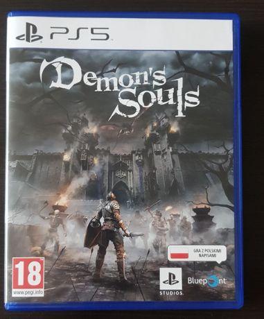 Demon's Souls Ps5 jak nowa