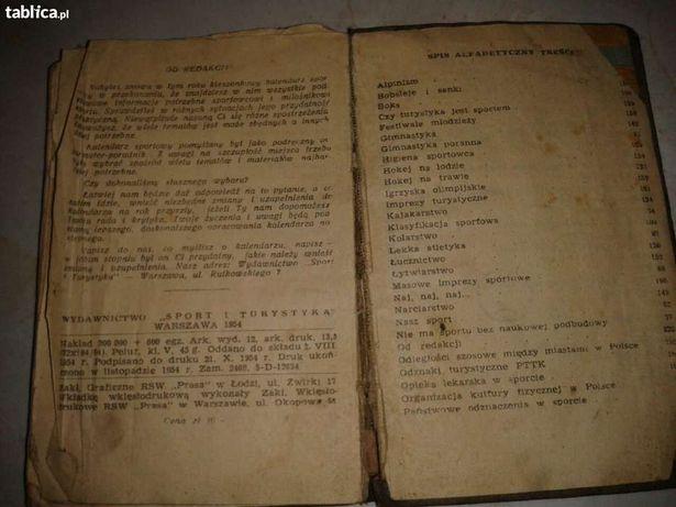 Kalendarz Sportowy na rok 1955