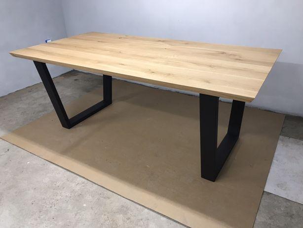 Stół dębowy trapez 200x100cm LOFT industrialny NA WYMAR!!!