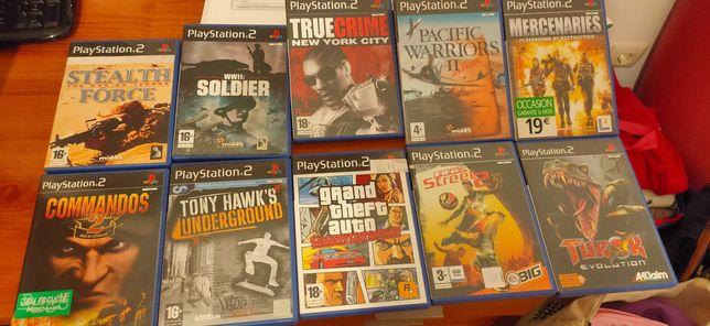 Vários Jogos PS 2