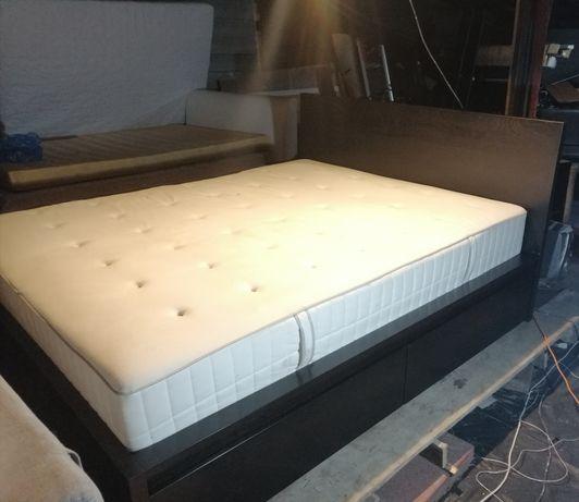 Łóżko 160x200 Ikea Malm z szufladami +materac. Możliwy DOWÓZ