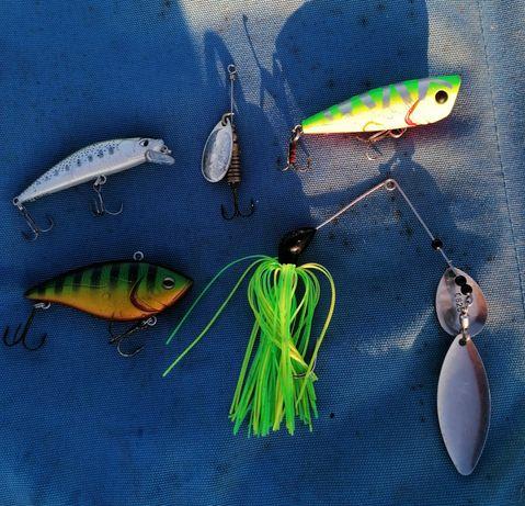 Amostras de pesca