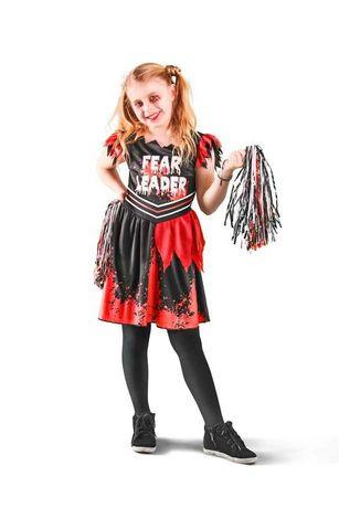 Костюм на хэллоуин halloween Англия чирлидерша на 10-11-12 лет