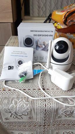 Bezprzewodowa obrotowa kamera DVS IP WIFI HD 720p