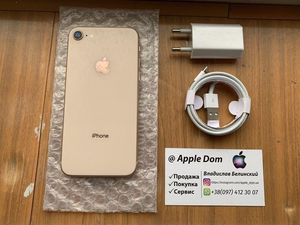 Apple iPhone 8 64gb Gold 230$ 7/8/X/XR/11 Max/XS/Max/12
