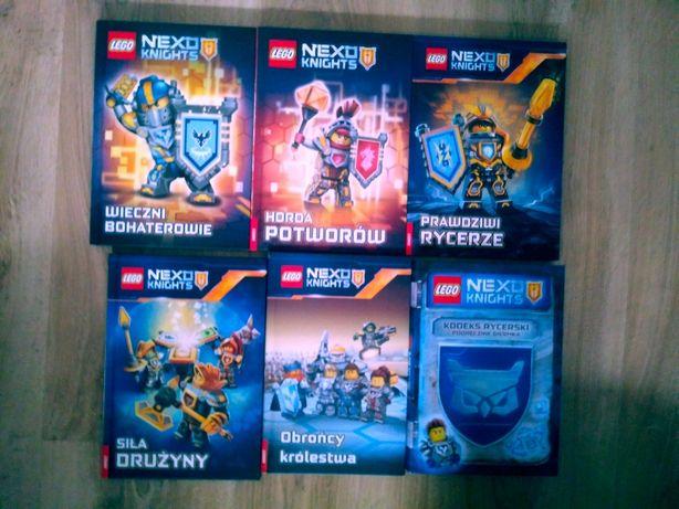 Nexo Knights. 6 książek. Nowe