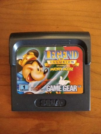 Legend Of Illusion - Mickey Mouse - Game Gear