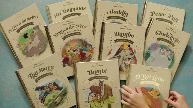 Coleção Livros Disney Contos de Ouro