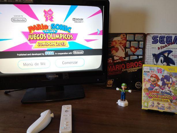 Mario & Sonic Jogos Olímpicos 2012 Nintendo Wii