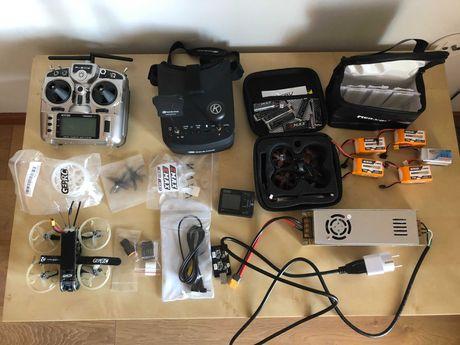 Drone GepRC e Tinyhawk + material