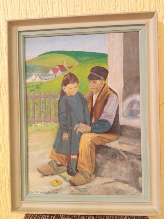 Obraz olej na płótnie z podpisem ,wyjątkowy Suchań - image 1