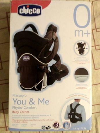 Слинг,рюкзак-кенгуру Chicco you & me physio-comfort