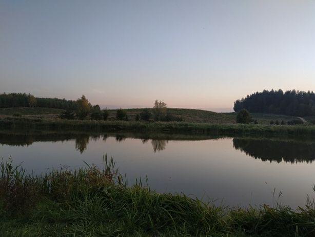 Działka z dostępem do jeziora