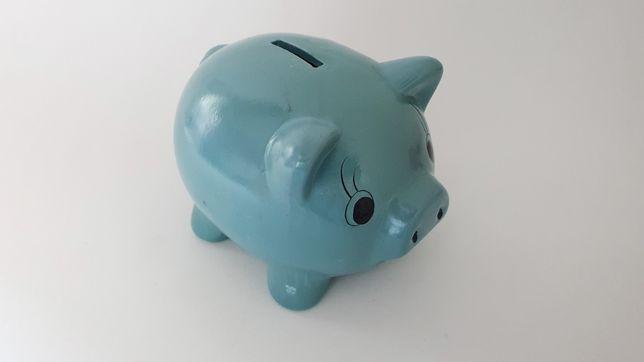 Porco Mealheiro (Azul)
