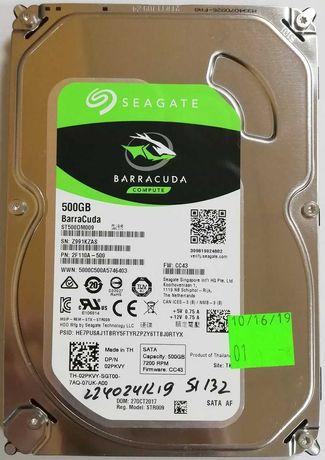 Жесткий диск для компьютера Seagate Barracuda 500GB 7200rpm SATAIII