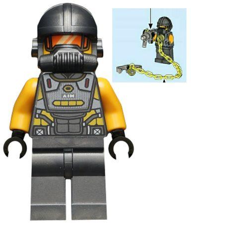 Lego Marvel SH653 Aim Agent + akcesoria Nowy! Ideał! Nie zbudowana!