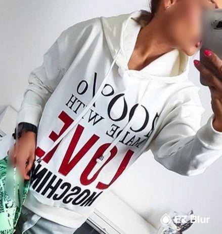 Bluza z kapturem MoScHiNo rozm S/M