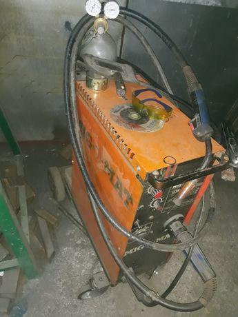 Migomat  półautomat spawalniczy MIG-O-MAT 250A  Butla co2 Komplet