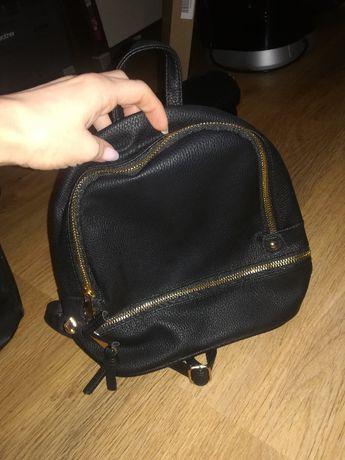 Czarny plecaczek plecak